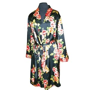 Morgan Taylor Women's 1x Floral Robe
